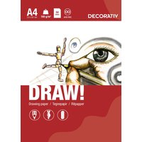 Tegning blok DRAW A4 (160 g) - 50 ark
